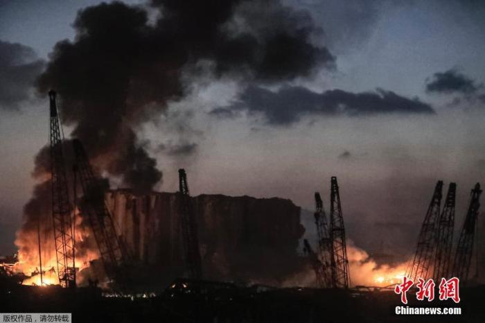 外媒称黎巴嫩总理妻女在贝鲁特爆炸中受伤 伤势轻微
