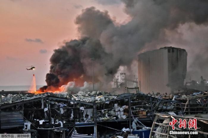 黎巴嫩总统府:将拨款1000亿里拉应对爆炸影响