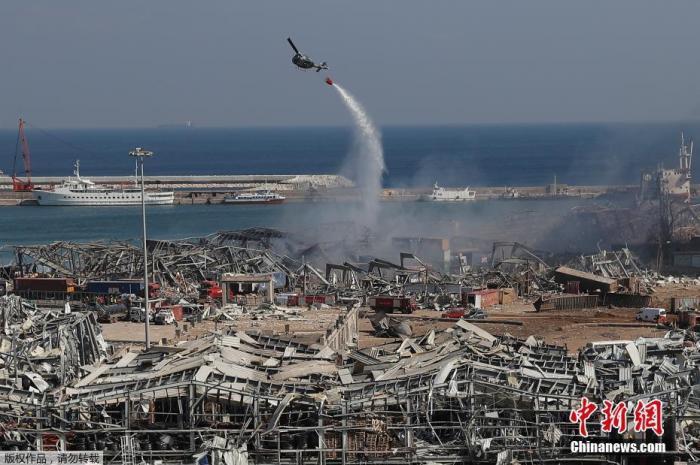 黎巴嫩爆炸致135死5000伤 百名联合国职员及家属受伤