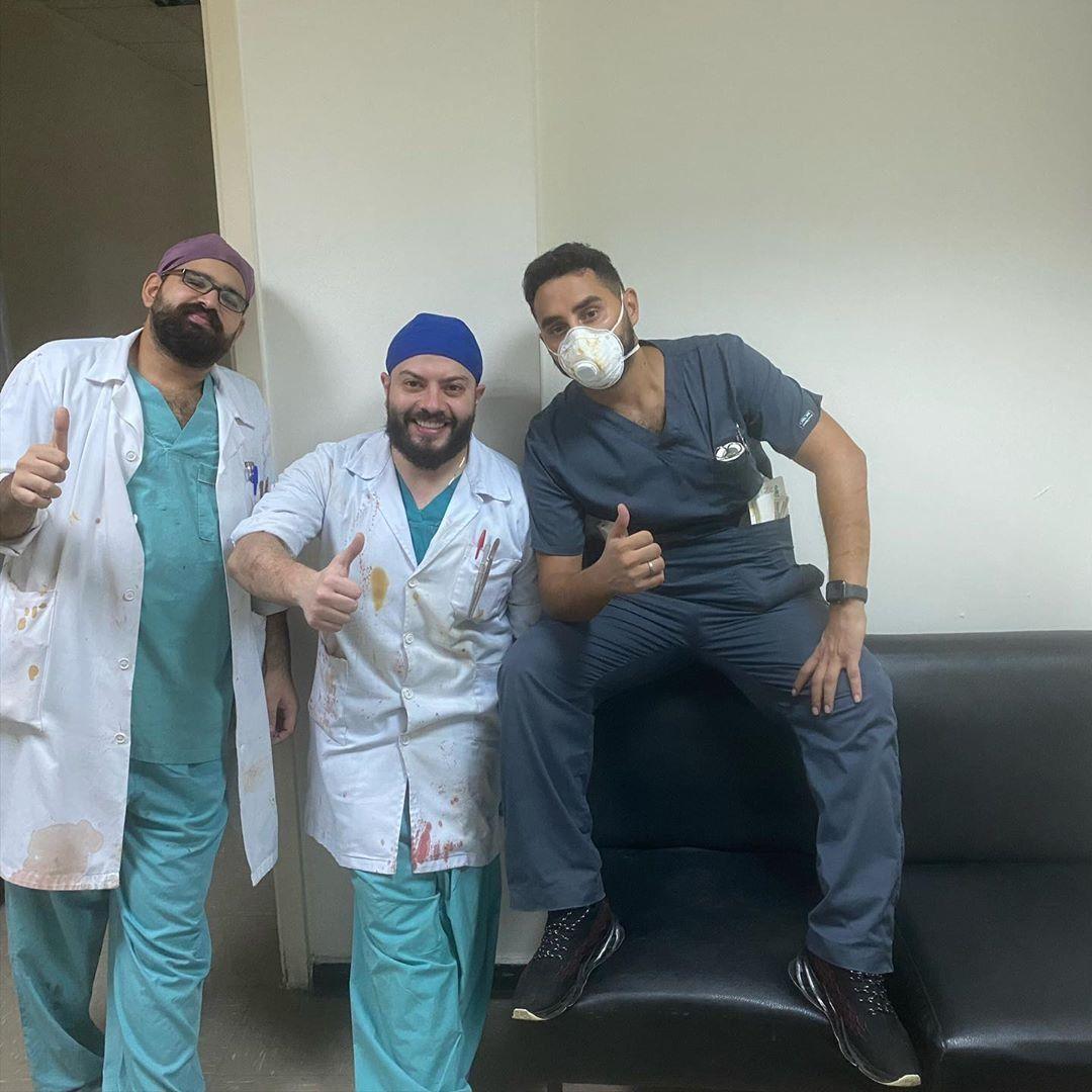 贝鲁特爆炸中的伤者和医者