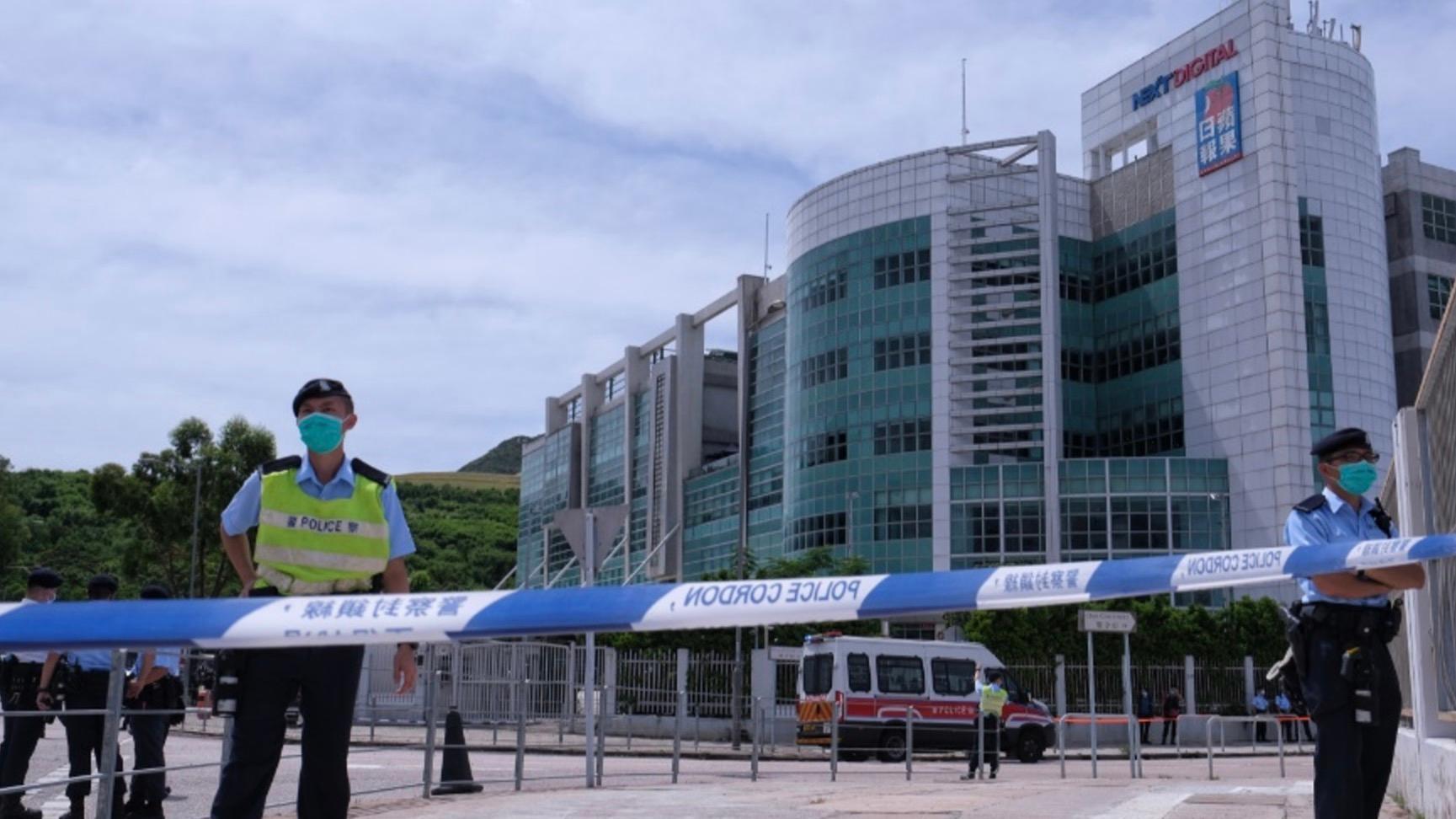 至少7人涉嫌勾结外国或境外势力危害国家安全等罪被捕 香港警方:不排除更多人被捕