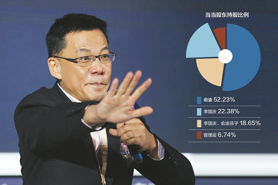"""李国庆、俞渝被儿子告上法庭 当当控股权之争""""最后一张牌""""或在股份代持"""