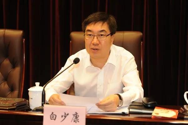 白少康已任平安中国建设协调小组维护社会稳定组组长