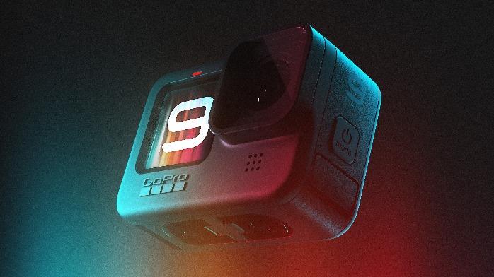 GoPro发布全新HERO9Black摄像机新增正面显示屏支持5K视频 售3498元