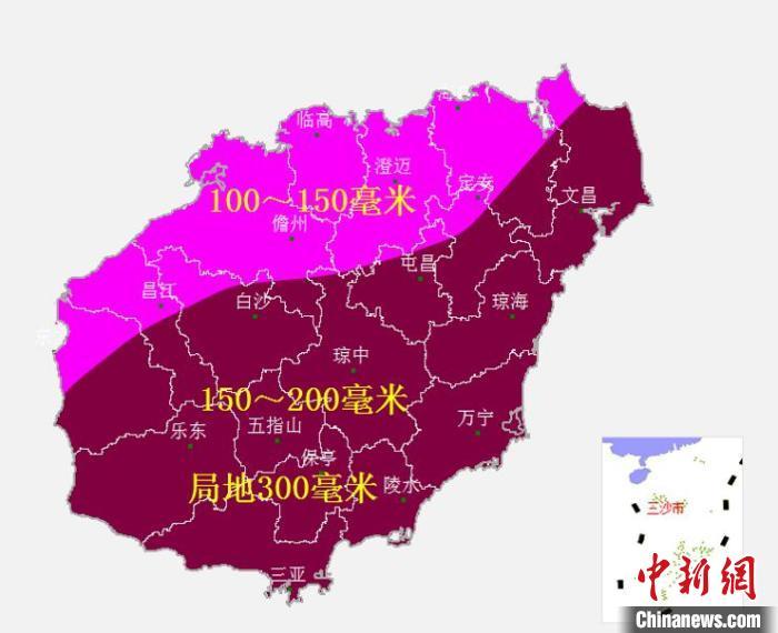 12日南海将有台风生成并严重影响海南省
