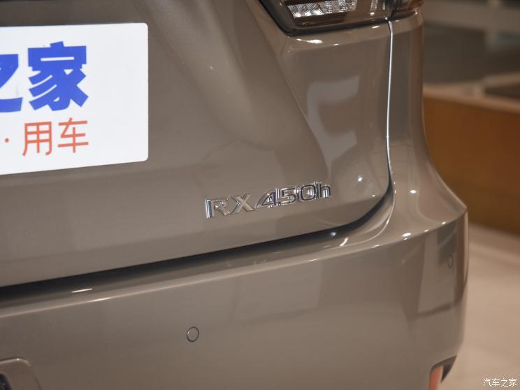 在欧洲注册商标 雷克萨斯或推RX 450h+