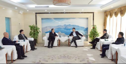 吉林银保监局党委书记、局长刘峰会见中国东方资产管理股份有限公司纪委书记仇宝林一行