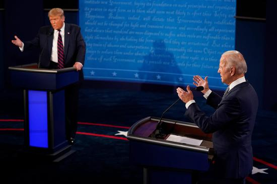 """美总统辩论修改规则 一人答题另一人将被""""静音"""""""