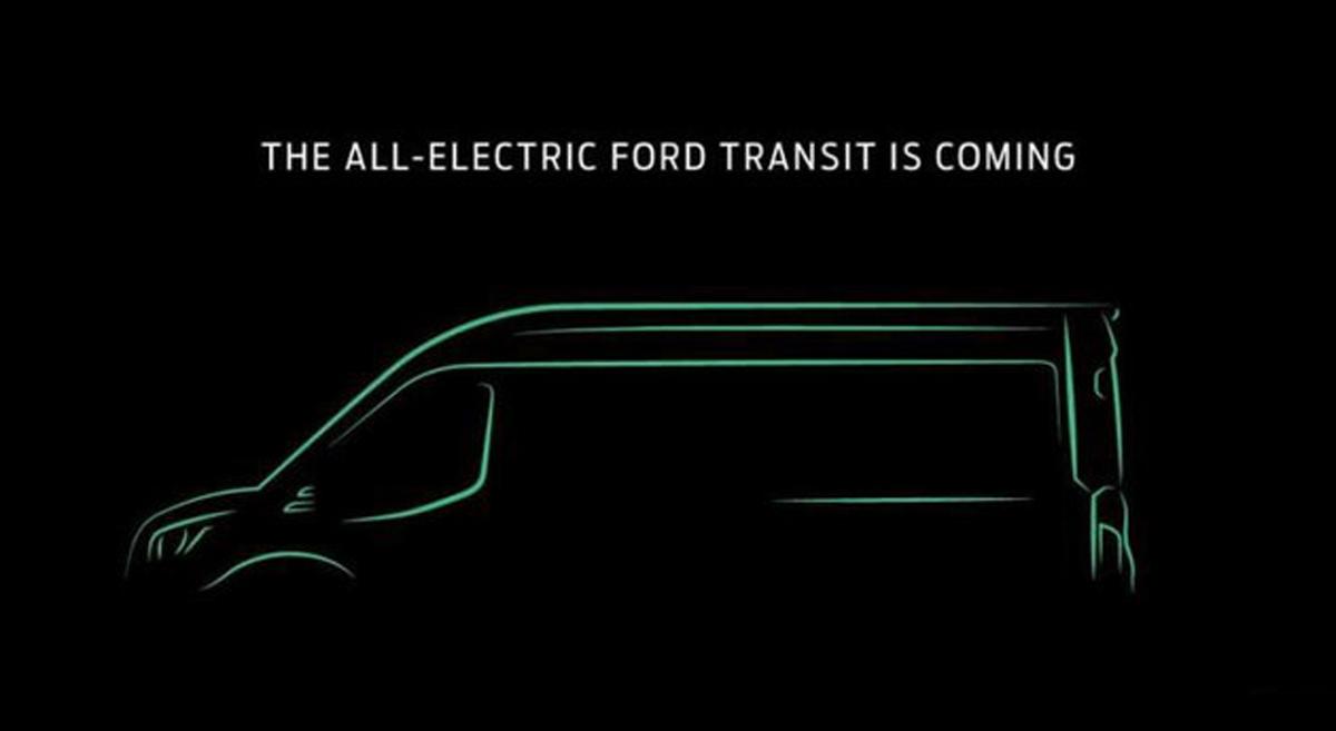 面向全球销售 福特纯电Transit将于11月发布