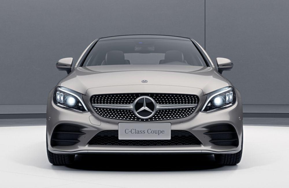 取消2.0T发动机 新款奔驰C级轿跑车售34.68万起