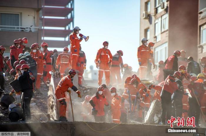 爱琴海地震已致土耳其113人遇难 仍有137人未出院