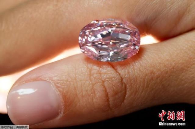 14.83克拉!世界最大紫粉钻石拍出2660万美元,中标者身份尚未公开
