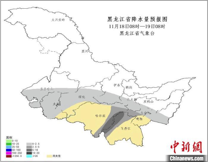 局地雪量将超40毫米 黑龙江启动气象灾害(暴雪)Ⅳ级应急响应