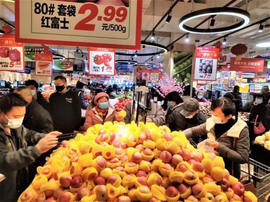 永辉超市首次进驻武汉 鄂川贵全国3店同开