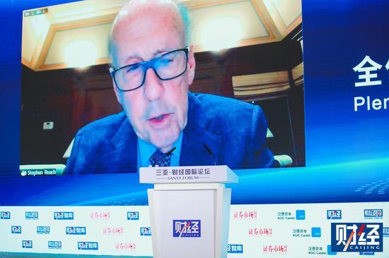 斯蒂芬・罗奇:世界主要发达国家明年经济可能持续下滑