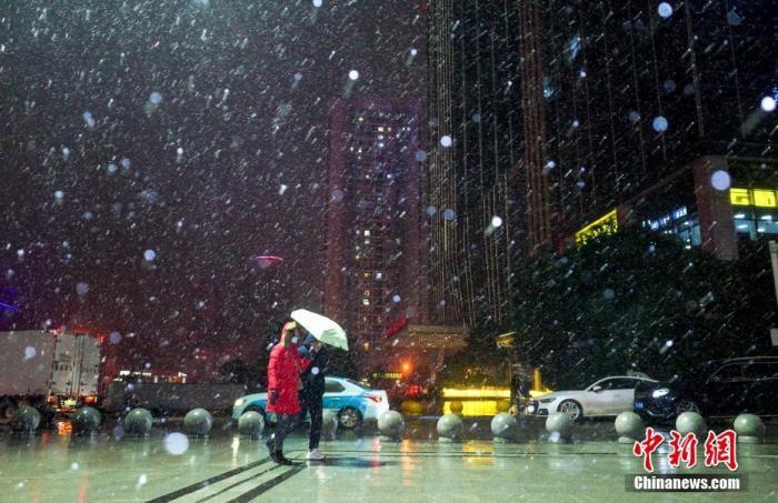 寒潮陆续抵达!北方大部气温降至低点中东部雨雪集中