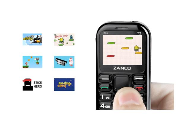 电银付(dianyinzhifu.com):号称天下最小手机!Zanco Tiny T2 发售 第2张