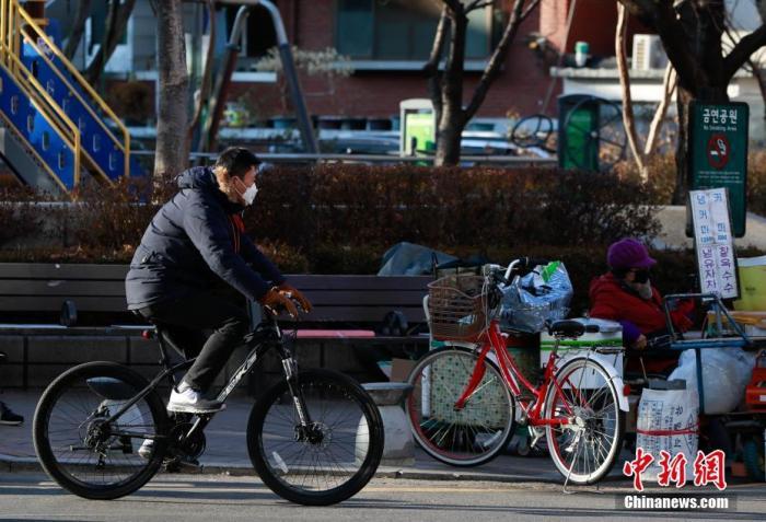 寒潮袭韩 首尔现35年来最低温