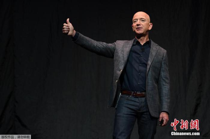世界首富贝佐斯将卸任亚马逊CEO 身价已达1962亿美元