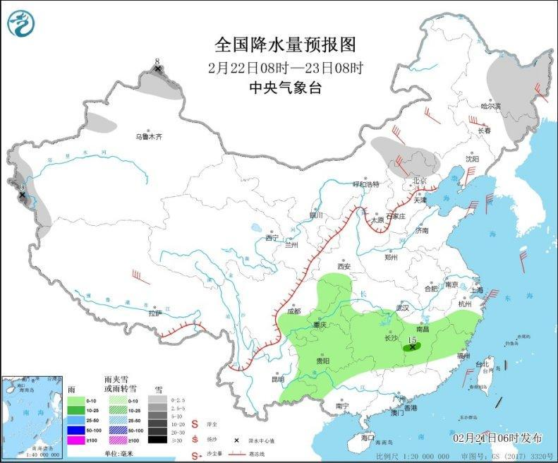 内蒙古、华北等地有沙尘 冷空气将影响华北东北等地