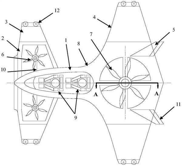 """国产新型""""城市飞行汽车""""曝光:两对折叠翼 形同大蝴蝶"""