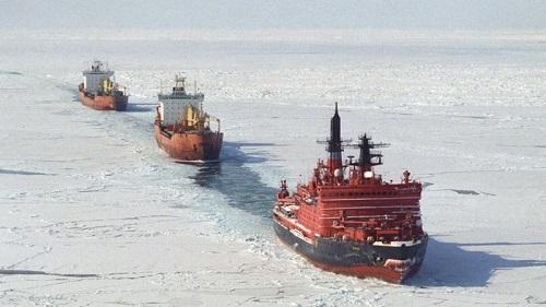 英媒:中国加入北冰洋运输航线 美国在与俄罗斯角逐北极之后再添所谓担忧