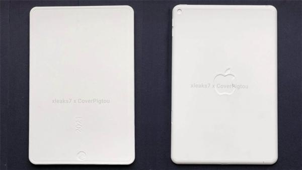 iPad mini 6外形曝光:苹果启用全面屏+屏下指纹设计