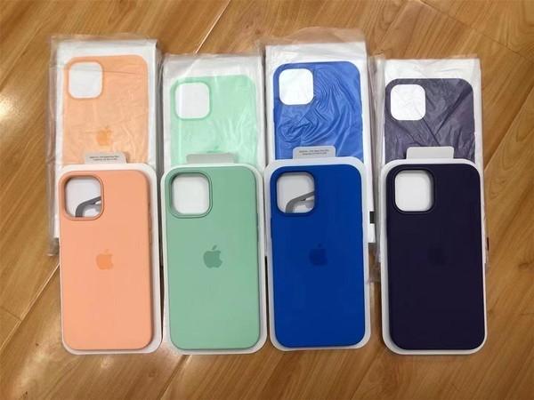 Phone 12系列春季配色硅胶壳曝光 网友:颜色很春天