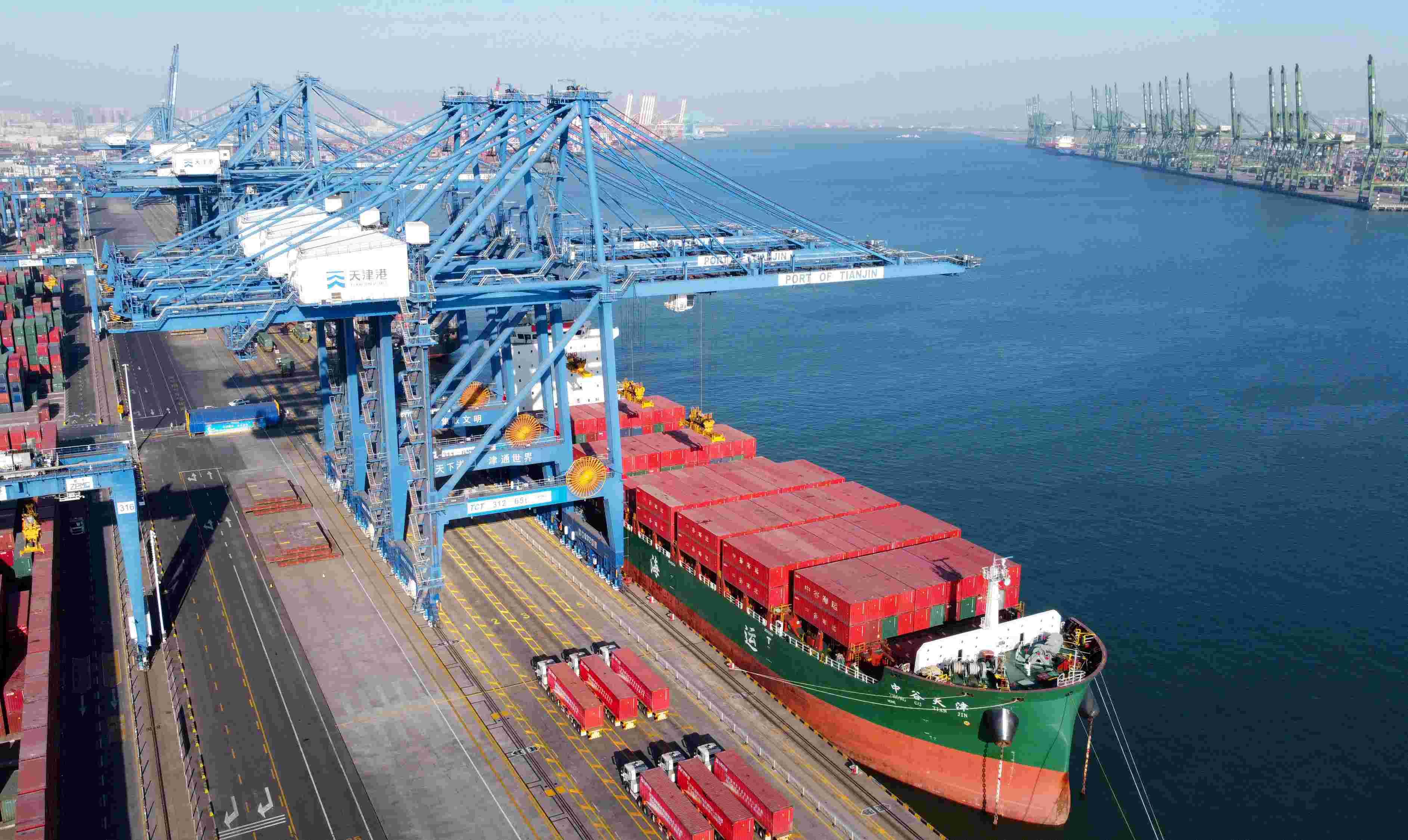 天津航运指数一季度环比上涨15.7% 高位震荡或将持续