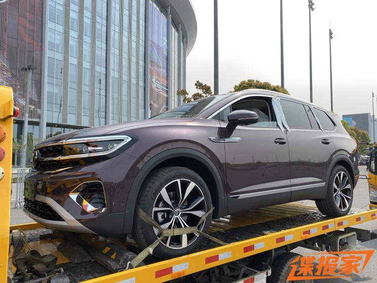 2021上海车展探馆:大众TALAGON车型