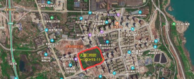 长城10.2亿元摘得大渡口86.77亩地 楼面价8816元/�O