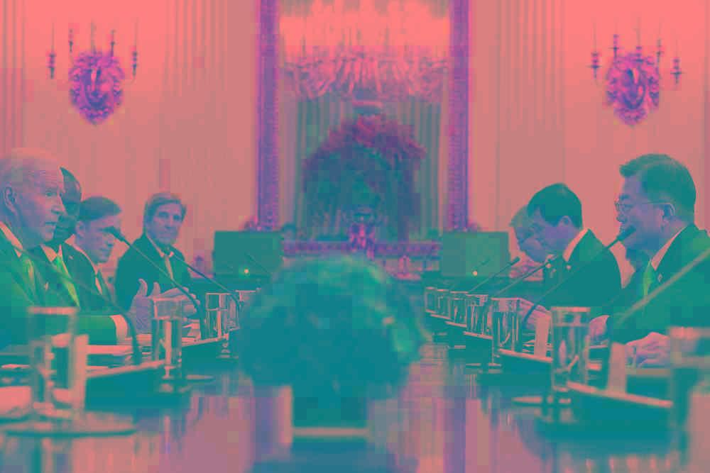 干涉中国内政!文在寅访美与拜登会面,韩美联合声明果然又提台海和南海