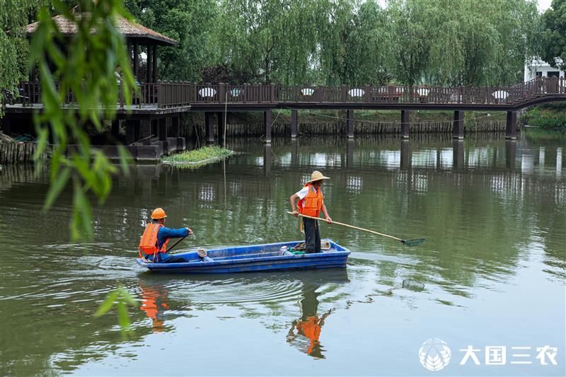 浙江湖州:水域环境全民共治