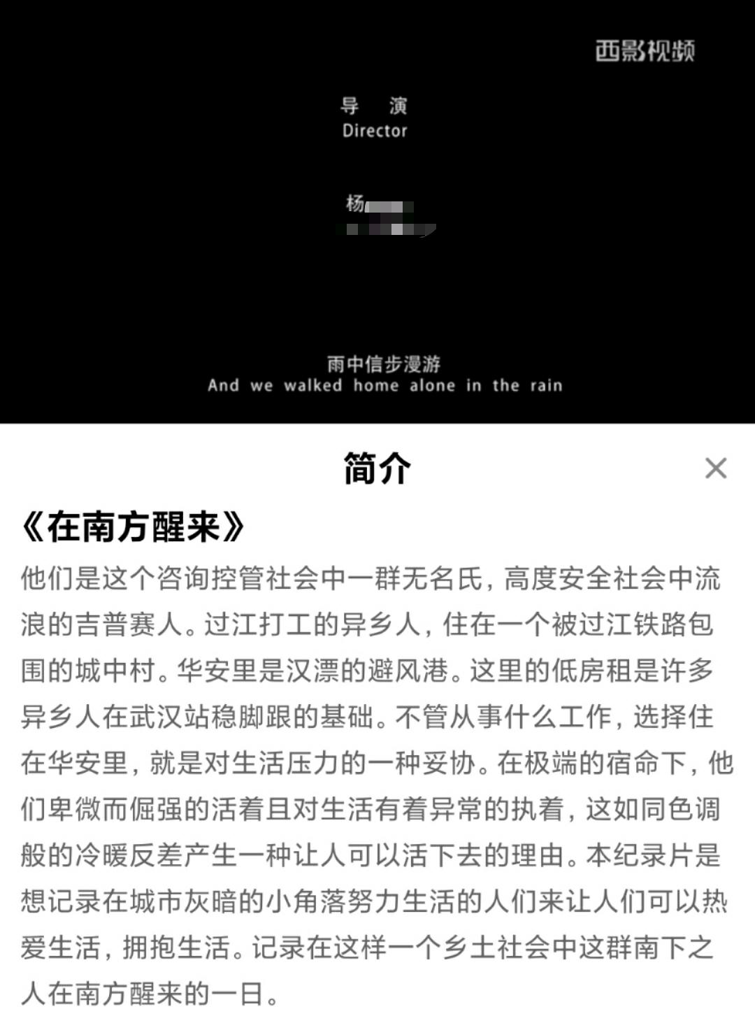 西安一高校学生疑似抄袭他人纪录片,学院教师:已展开调查