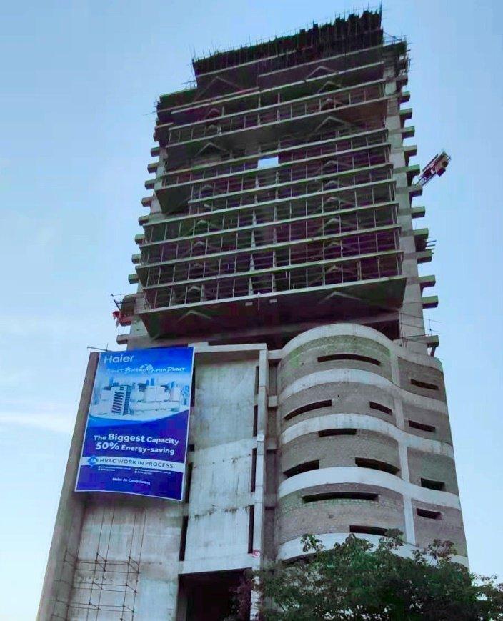 继人马座地标后,海尔中央空调又登上巴基斯坦第二高楼