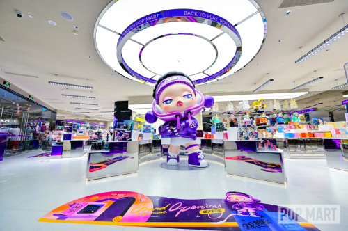商业地产释放品牌势能,泡泡玛特进击商业中心C位