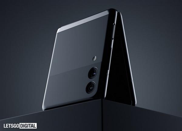 三星新专利图曝光:带旋转摄像头的翻盖折叠手机