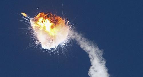 俄媒:美国私营公司火箭发射爆炸 研发方称一部发动机停机导致