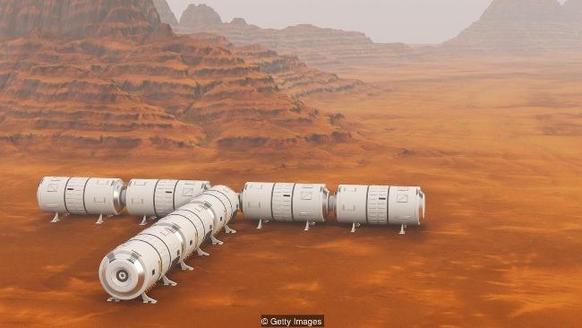 """科学家发明特殊太空混凝土材料 为打造太空""""经济适用房""""创造可能性"""