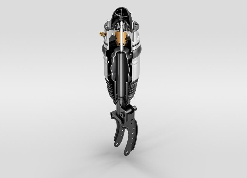 大陆集团推出全新空气悬架阻尼器、压缩机和恒温器