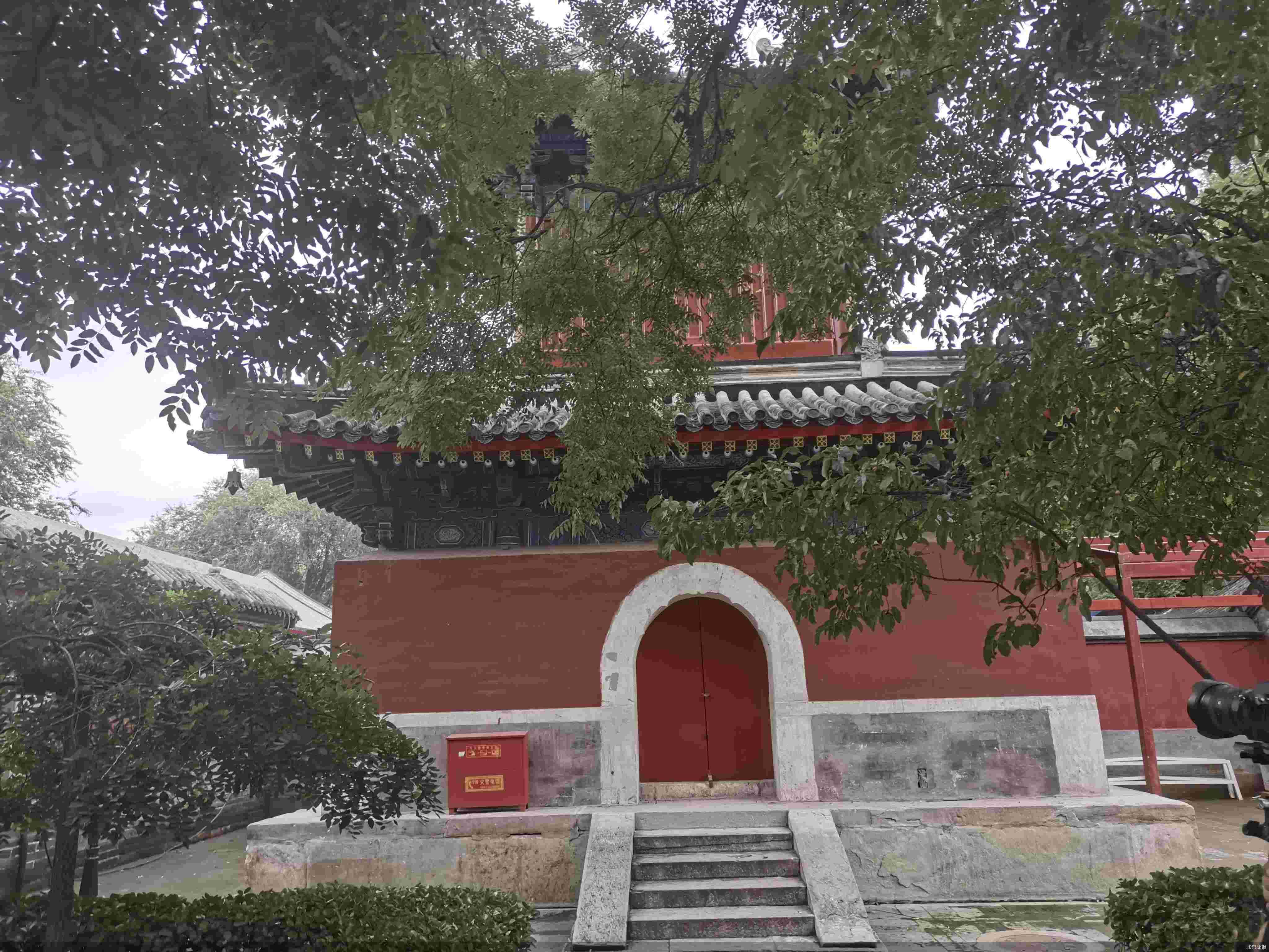 万寿寺完成部分修缮工作 最大限度保留原构件