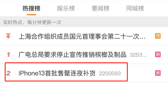 "iPhone真""13香""预售秒售罄,A股""果链""机会来了(名单)"