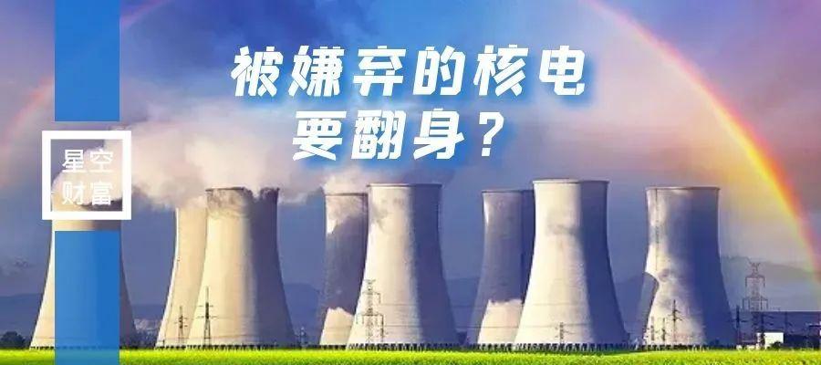 电力股集体狂欢!翻身的核电,为何这次不一样?