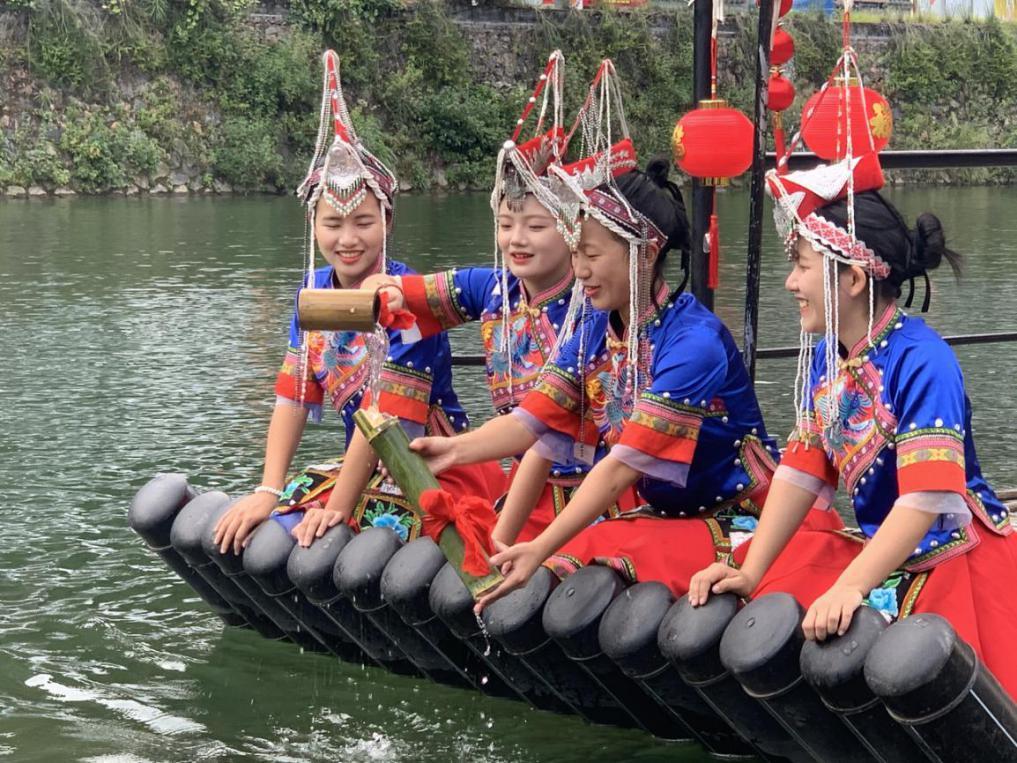 第四届中国农民电影节龙泉分会场取水仪式顺利举行