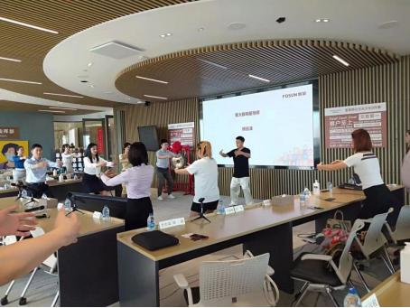 诺欧商学院2021级秋季班EMBA新生参访复星集团
