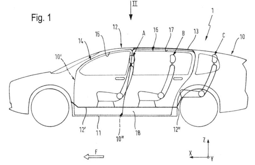 """宝马公布未来SUV""""鹰翼门""""专利 更便于进入车内"""