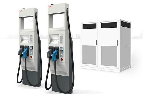 秒杀特斯拉!ABB全球最快电动汽车充电器年底面市:一次充四辆,15分钟充满!价值30亿美元